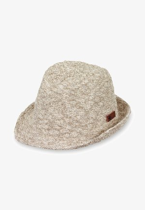 KOPFBEDECKUNG UNISEX MINI STROHHUT - Hat - sand