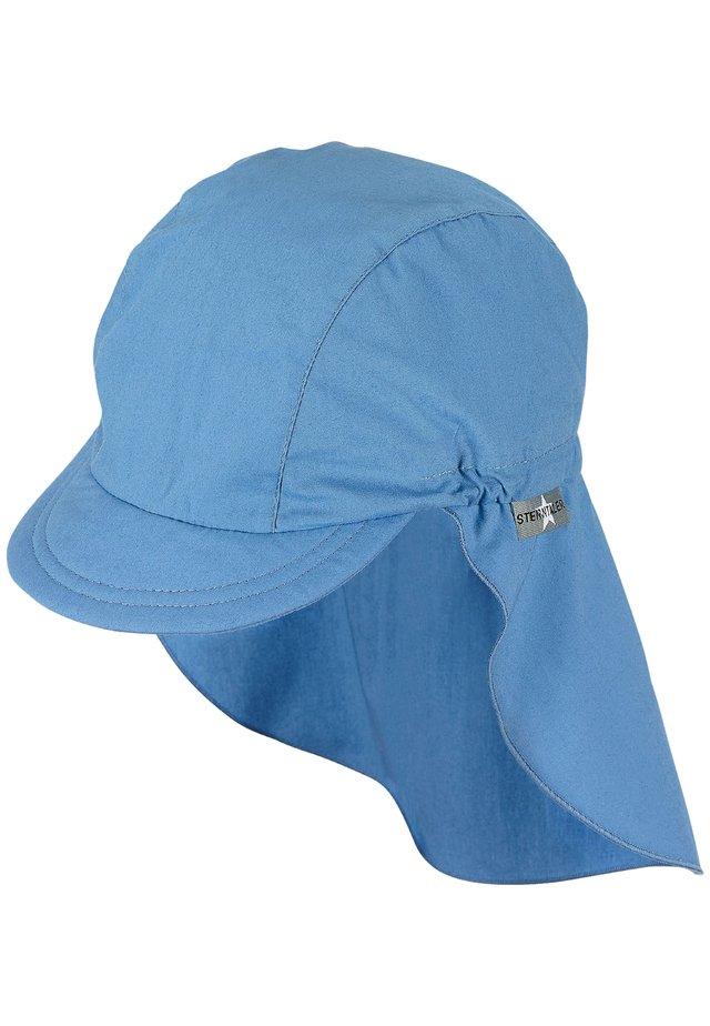 MIT NACKENSCHUTZ - Cap - samtblau