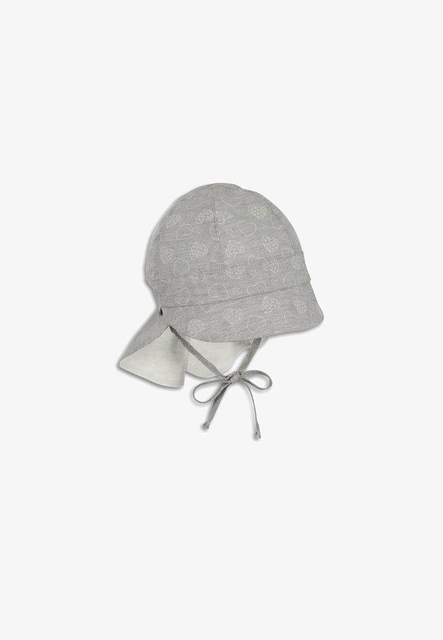 MIT NACKENSCHUTZ - Hat - lichtgrau