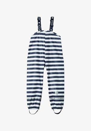 REGENHOSE REGENHOSE - Pantalon de ski - dark blue/white