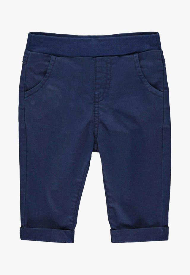 STEIFF COLLECTION HOSE MIT TEDDYBÄRMOTIV - Pantalon classique - steiff navy