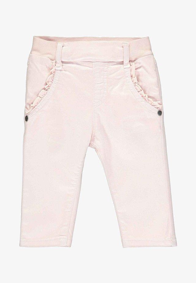 STEIFF COLLECTION HOSE MIT TASCHEN - Pantalon classique - barely pink