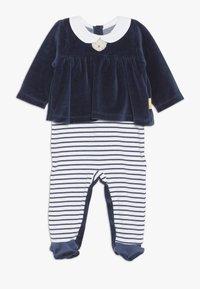 Steiff Collection - CHRISTMAS GIRLS BABY - Strampler - navy - 0