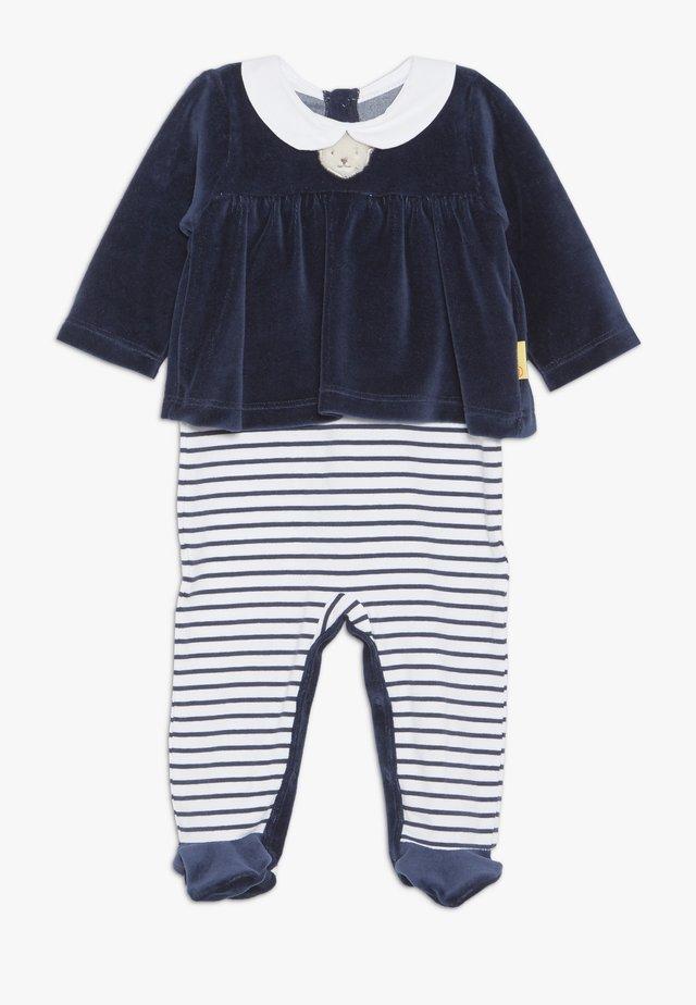 CHRISTMAS GIRLS BABY - Strampler - navy
