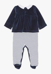 Steiff Collection - CHRISTMAS GIRLS BABY - Strampler - navy - 1