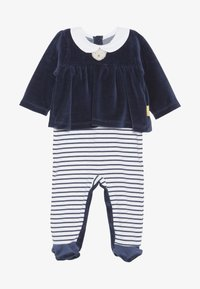 Steiff Collection - CHRISTMAS GIRLS BABY - Strampler - navy - 2