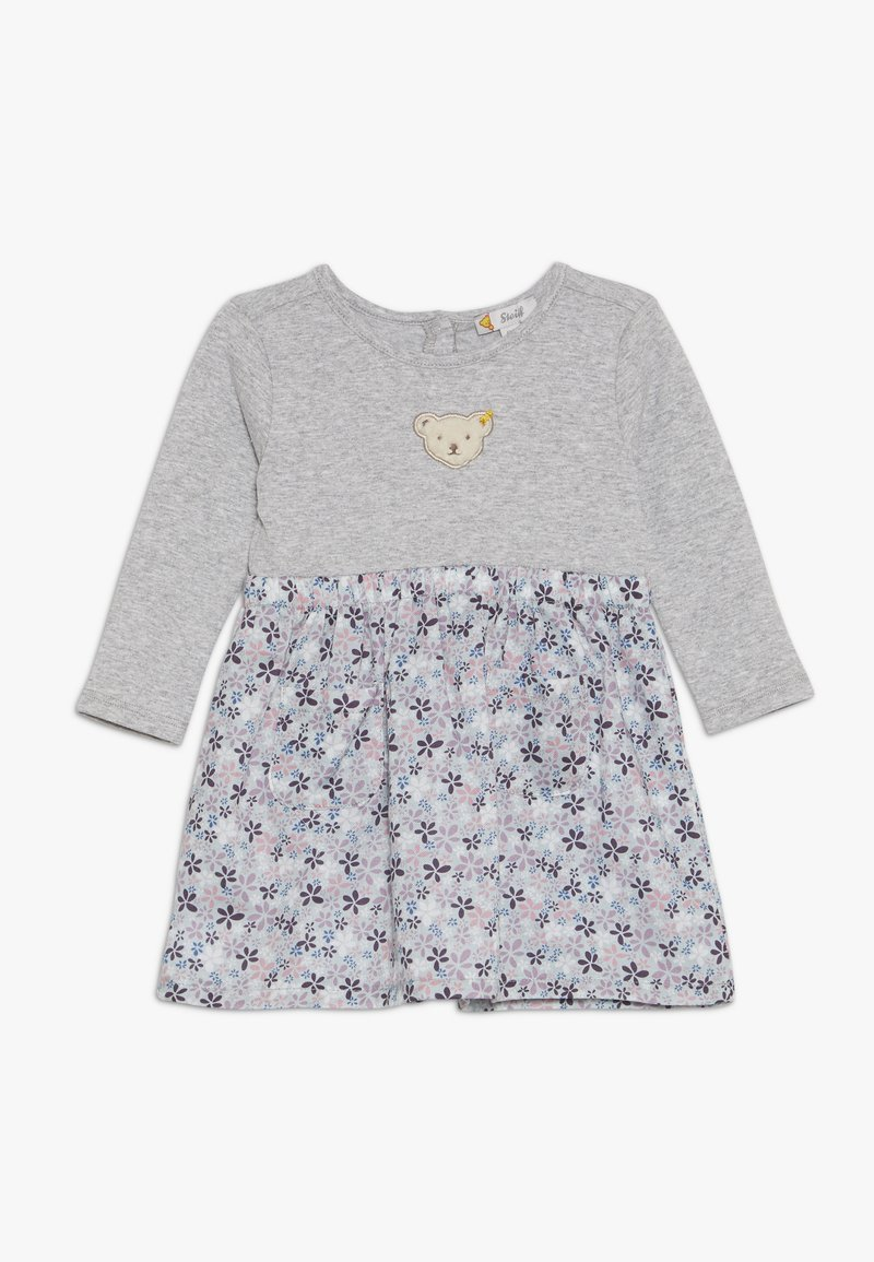 Steiff Collection - FLORAL DRESS BABY - Jerseykleid - grey