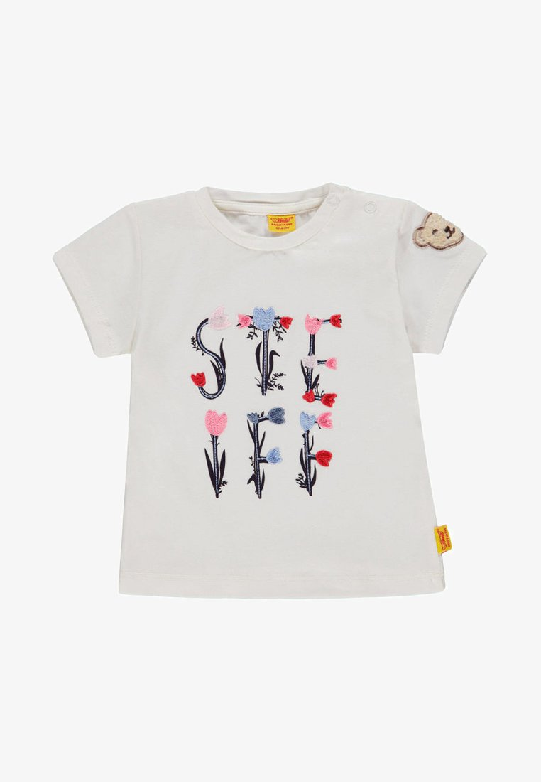 Steiff Collection - Print T-shirt - white