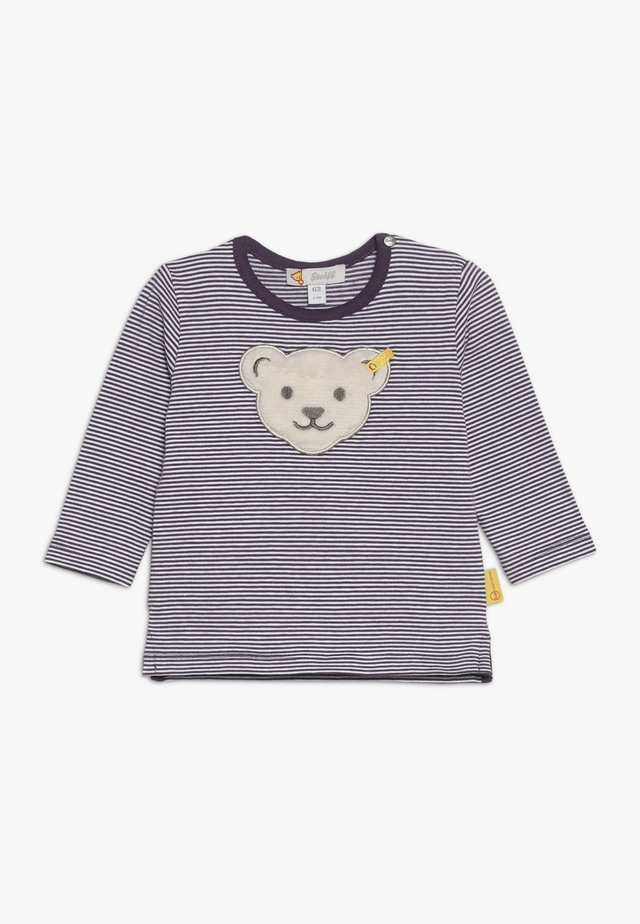 STRIPE BEAR BABY - Long sleeved top - wildberry