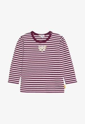 GIRLS STRIPE BABY - Bluzka z długim rękawem - red