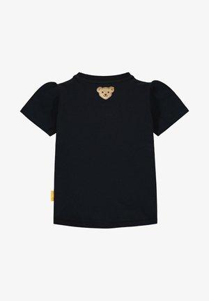 STEIFF COLLECTION T-SHIRT MIT SÜSSEM PRINT - T-shirt imprimé - black iris
