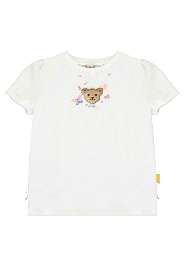 STEIFF COLLECTION T-SHIRT MIT SCHMETTERLING-PRINT - T-Shirt print - bright white