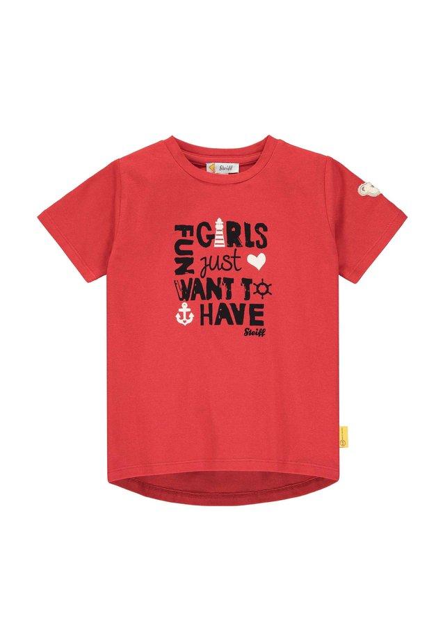 STEIFF COLLECTION T-SHIRT T-SHIRT - T-shirt imprimé - tango red