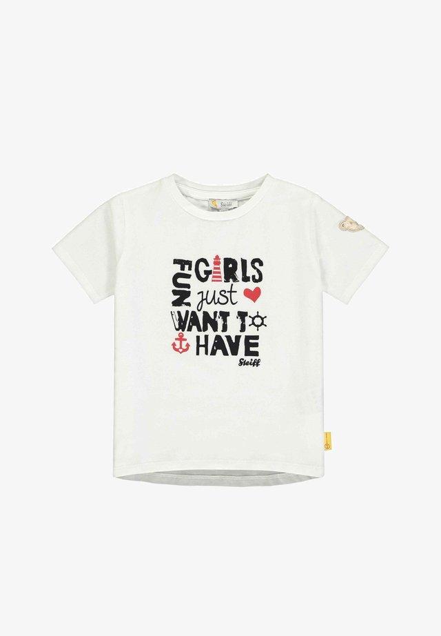 STEIFF COLLECTION T-SHIRT T-SHIRT - T-shirt imprimé - bright white