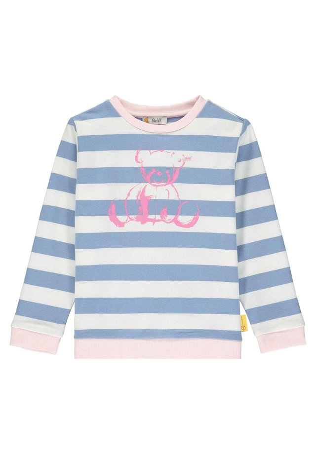 STEIFF COLLECTION SWEATSHIRT MIT SÜSSEM PRINT - Sweatshirt - forever blue