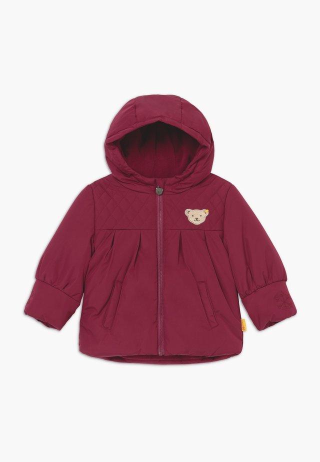 GIRLS COAT BABY - Zimní kabát - red