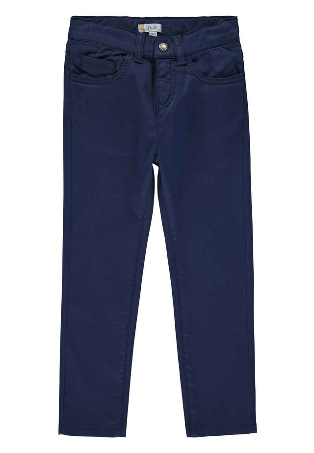 STEIFF COLLECTION HOSE MIT VERSTELLBAREM BUND - Stoffhose - navy