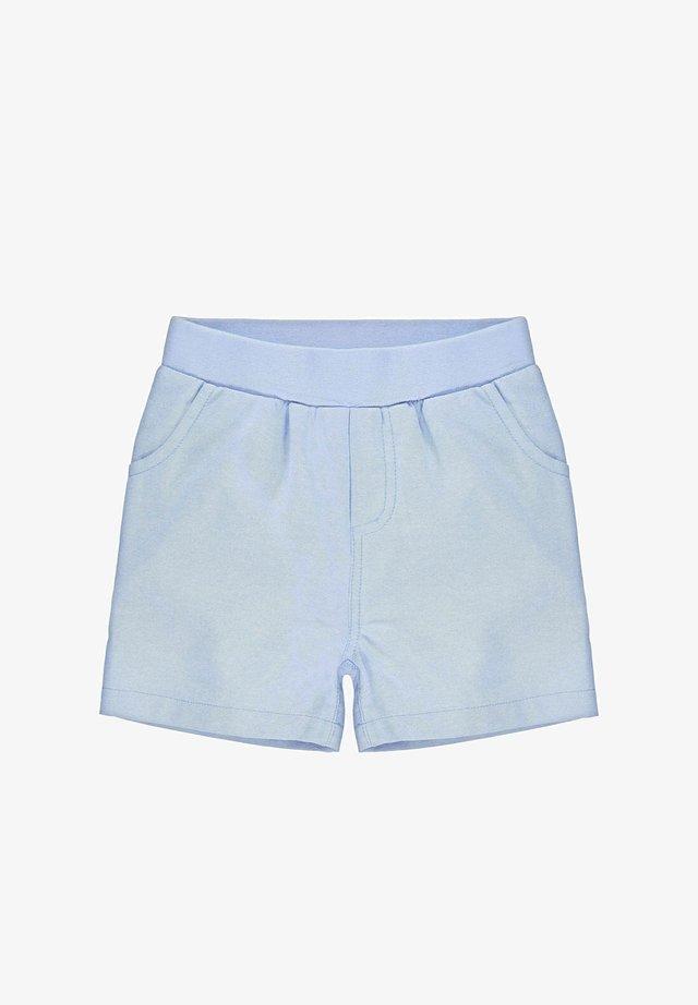 STEIFF COLLECTION SHORTS MIT TEDDYBÄRMOTIV - Shorts - kentucky blue