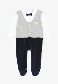 Steiff Collection - BOYS WAISTCOAT ONEPIECE BABY - Overal - navy - 2