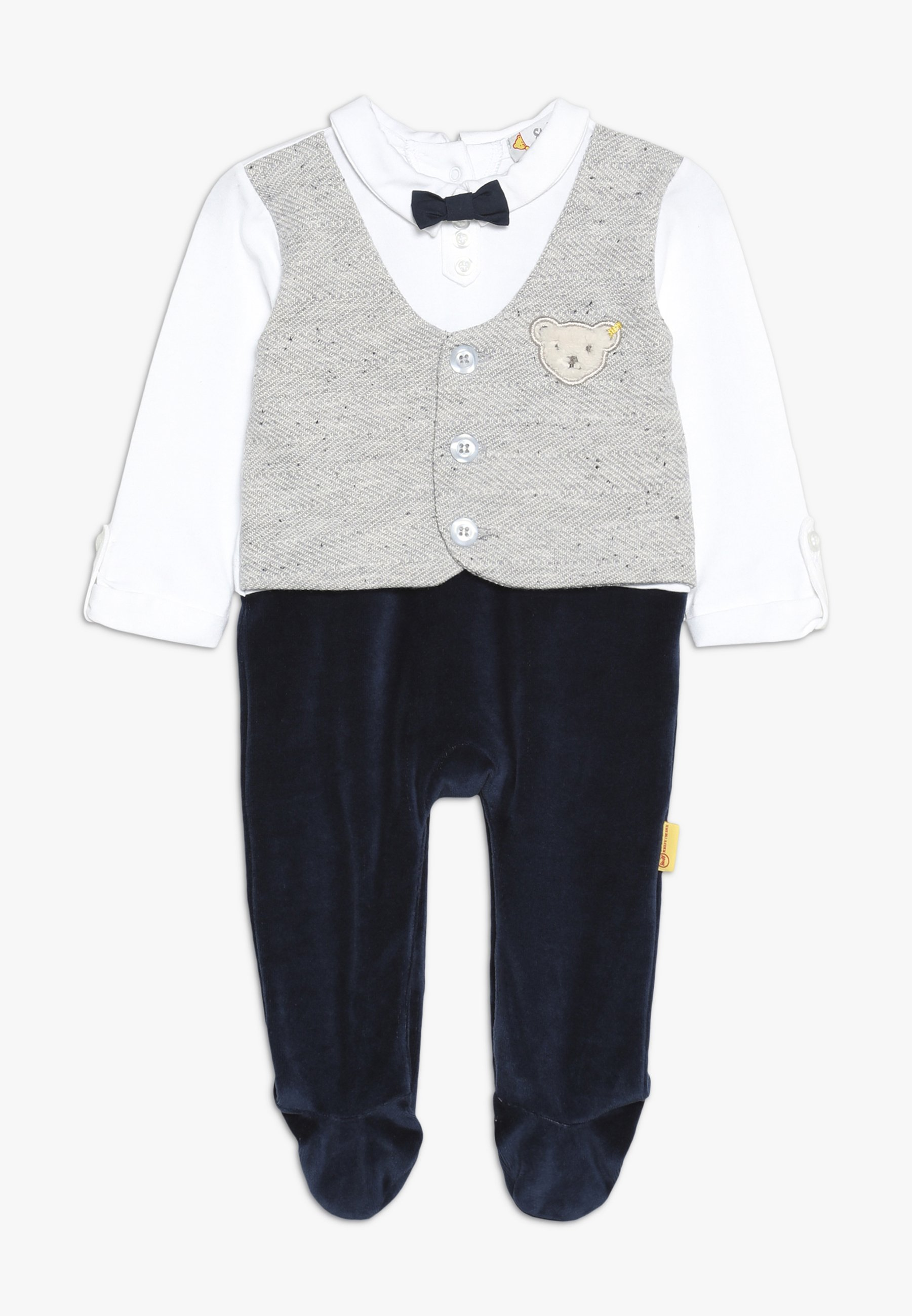 Steiff Collection Boys Waistcoat Onepiece Baby - Mono Navy