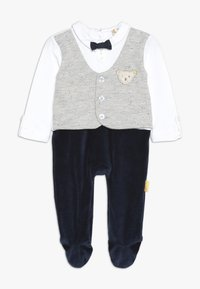 Steiff Collection - BOYS WAISTCOAT ONEPIECE BABY - Overal - navy - 0