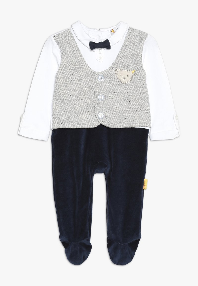 Steiff Collection - BOYS WAISTCOAT ONEPIECE BABY - Overal - navy