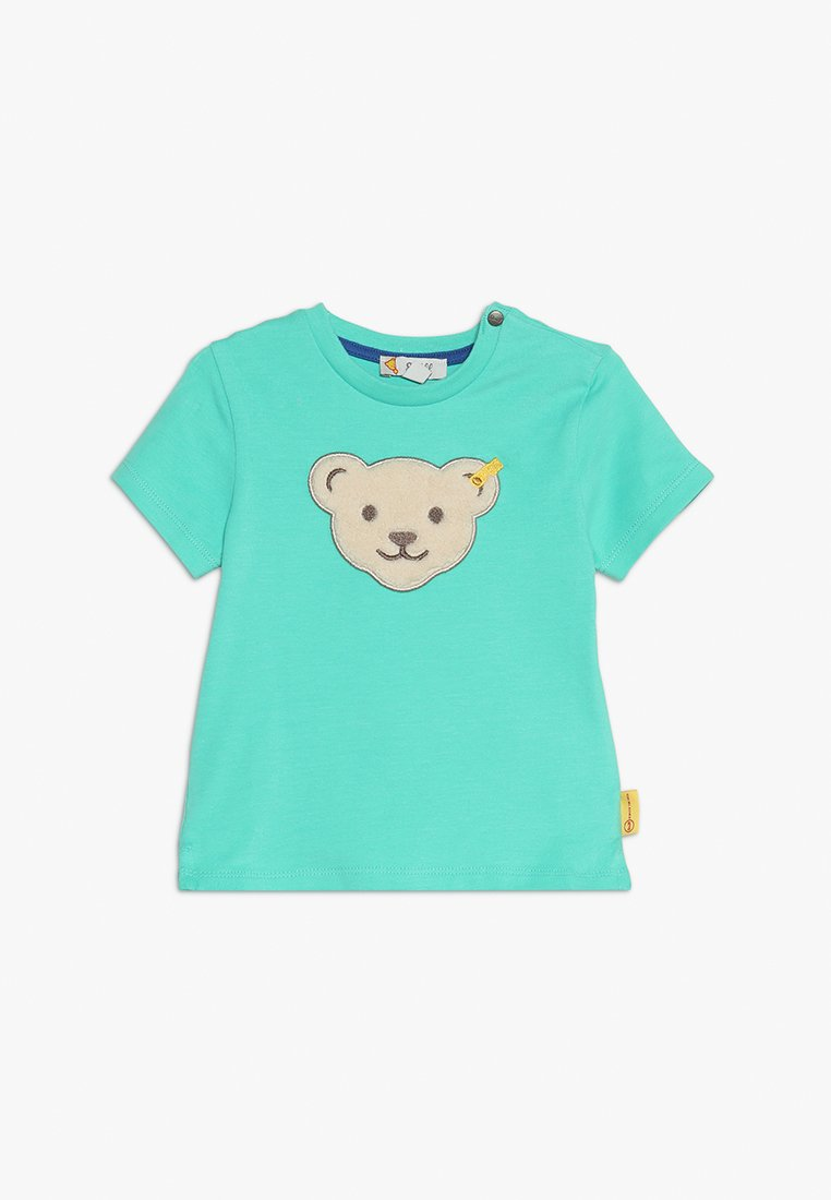 Steiff Collection - BABY - T-shirts med print - aqua green