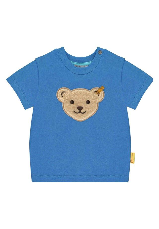 STEIFF COLLECTION T-SHIRT MIT TEDDYBÄR-PATCH - T-shirt print - skydiver
