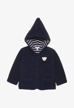PIXIE BORG HOODY BABY - Zimní bunda - navy