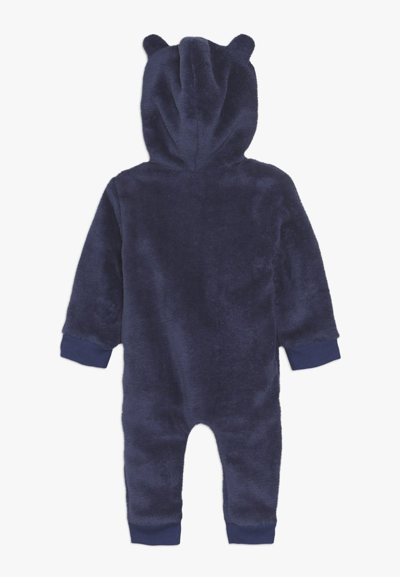 Steiff Collection - FLUFFY BEAR EARS ONEPIECE BABY - Jumpsuit - blue