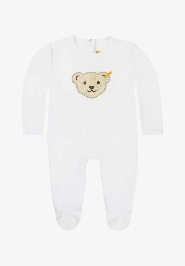 STEIFF COLLECTION STRAMPLER - Sleep suit - bright white