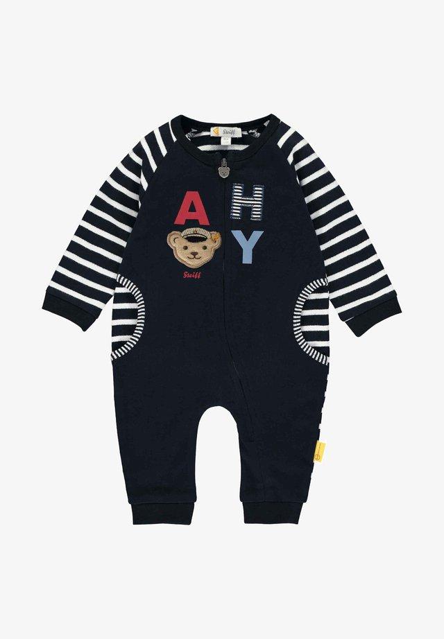 """MIT """"AHOI""""-SCHRIFTZUG - Jumpsuit - black"""