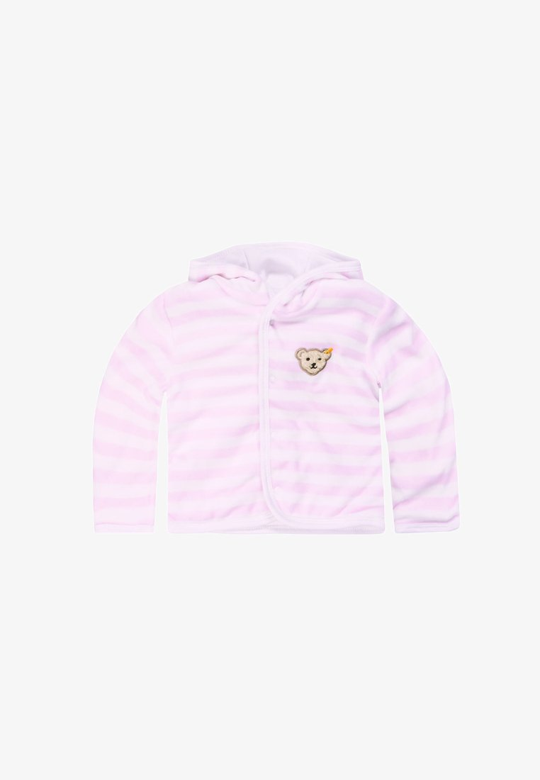 Steiff Collection - Zip-up hoodie - light pink