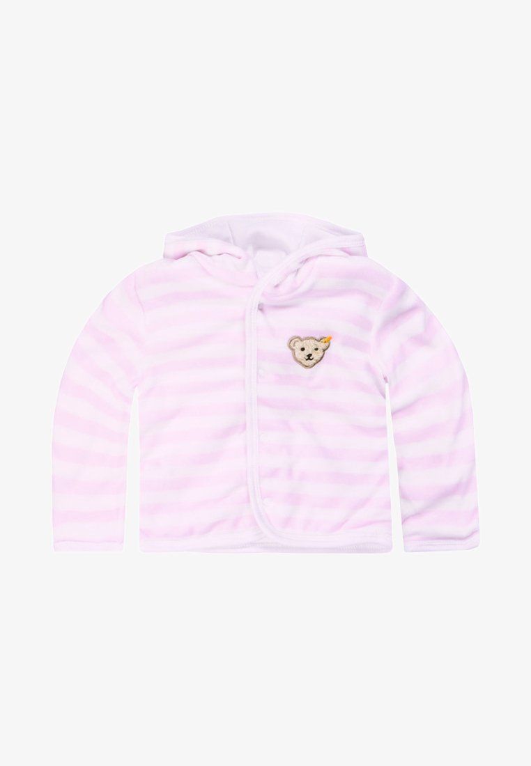 Steiff Collection - veste en sweat zippée - light pink
