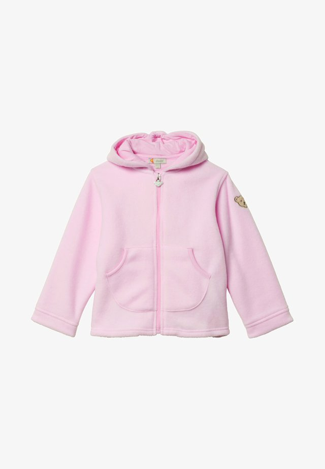 Sweatjacke - light pink