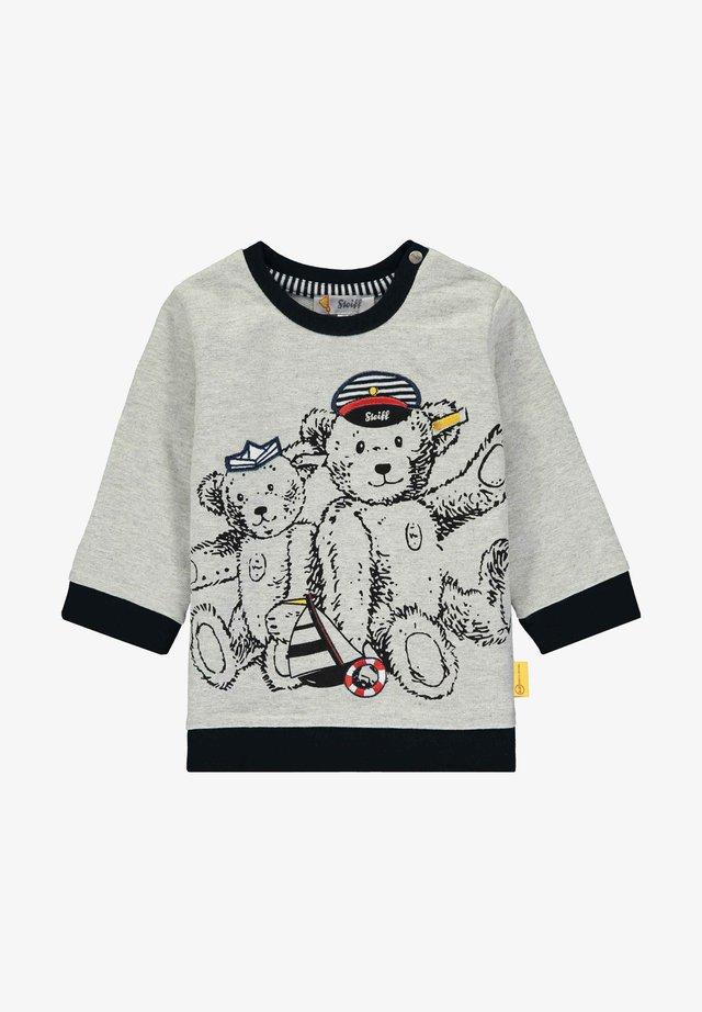 MIT PIRATENCREW-PRINT - Sweatshirt - grey