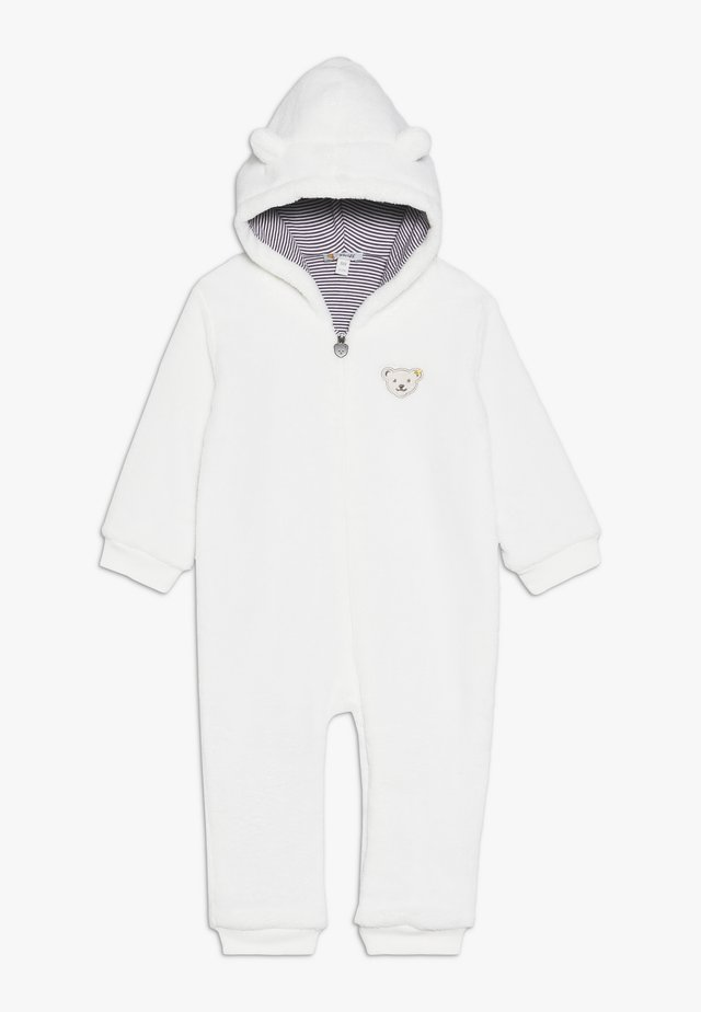 FLUFFY ALL IN ONE BABY - Jumpsuit - cream