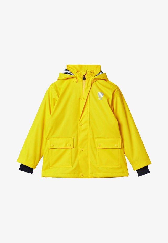 Regenjas - yellow