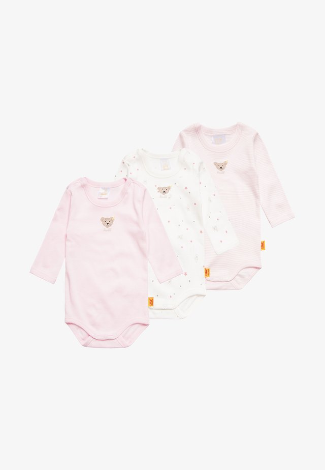 1/1 ARM BABY 3 PACK - Body - barely pink/rose