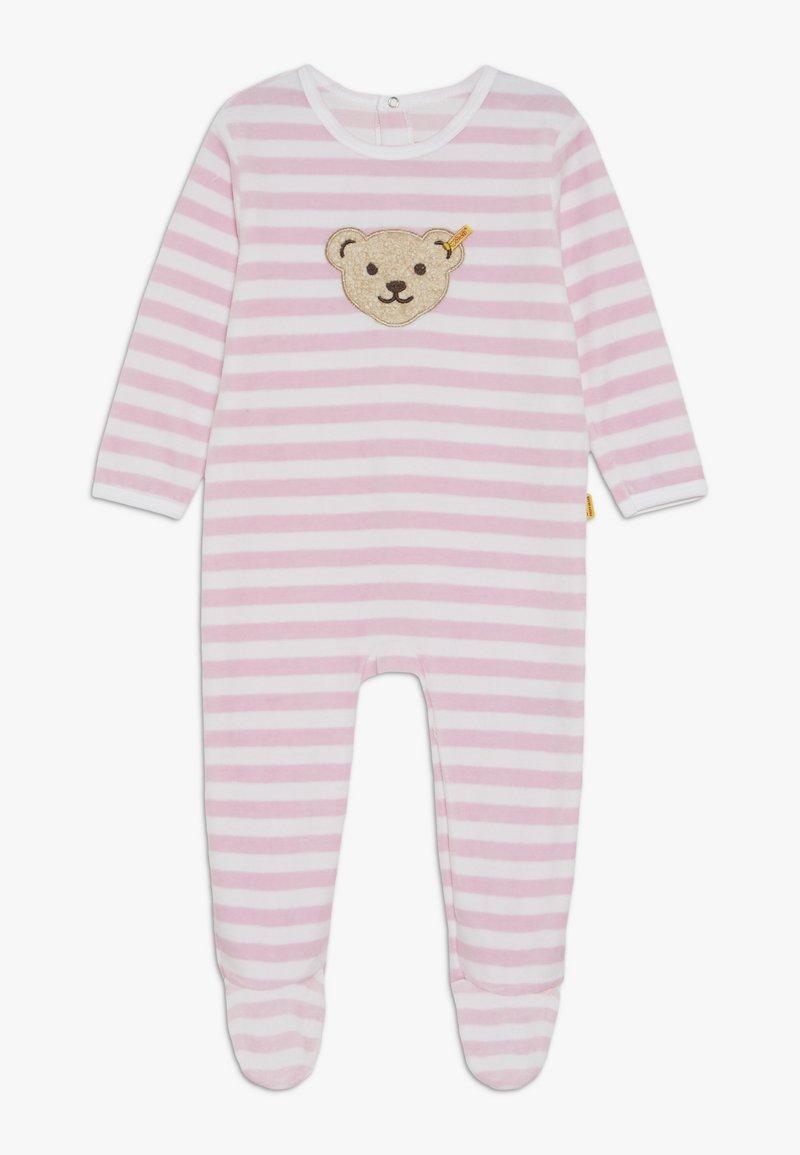 Steiff Collection - STRIPE SLEEPSUIT BABY - Pyjama - barely pink
