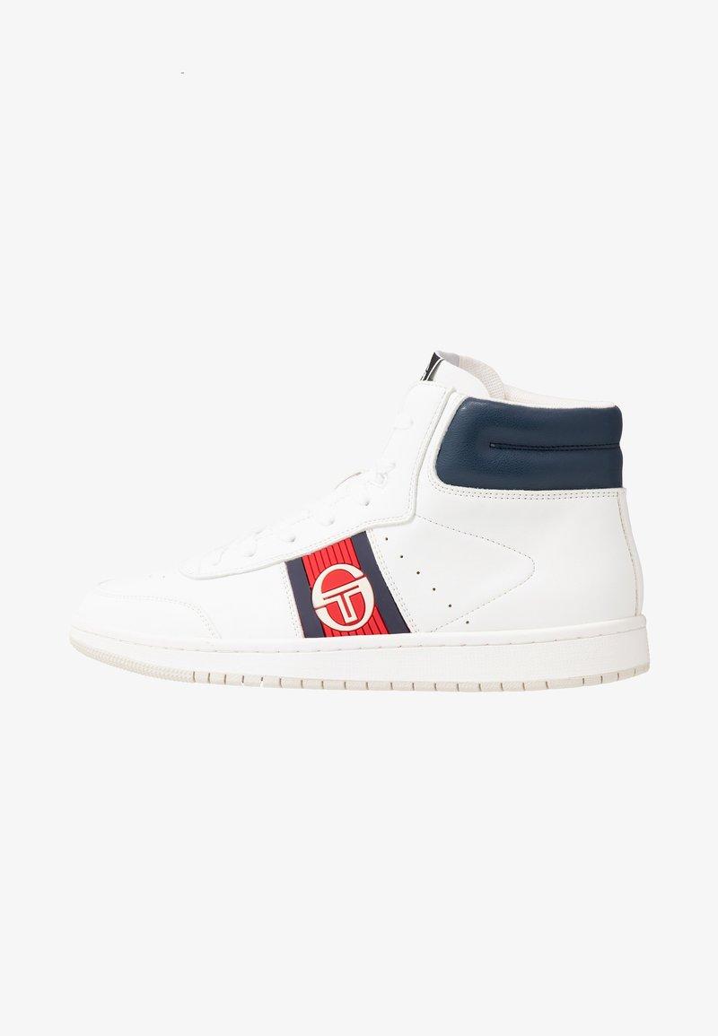 sergio tacchini - JEFF  - Sneakersy wysokie - white/deep