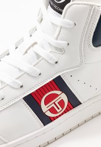 sergio tacchini - JEFF  - Sneakersy wysokie - white/deep - 5