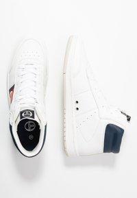 sergio tacchini - JEFF  - Sneakersy wysokie - white/deep - 1