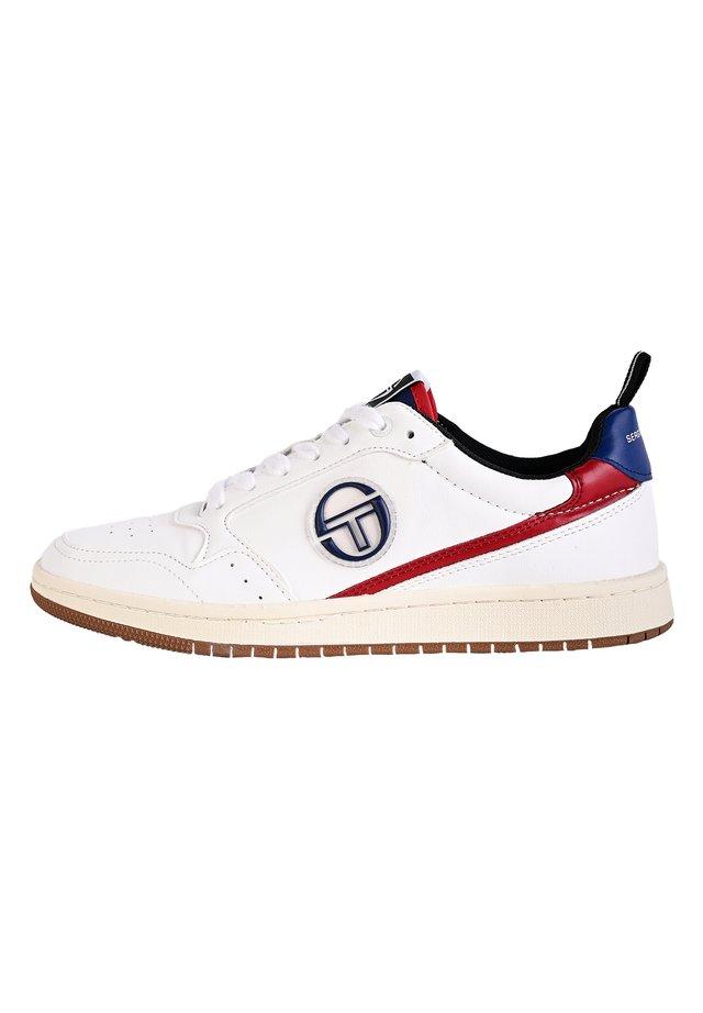 JILL - Sneaker low - wht/nav/r