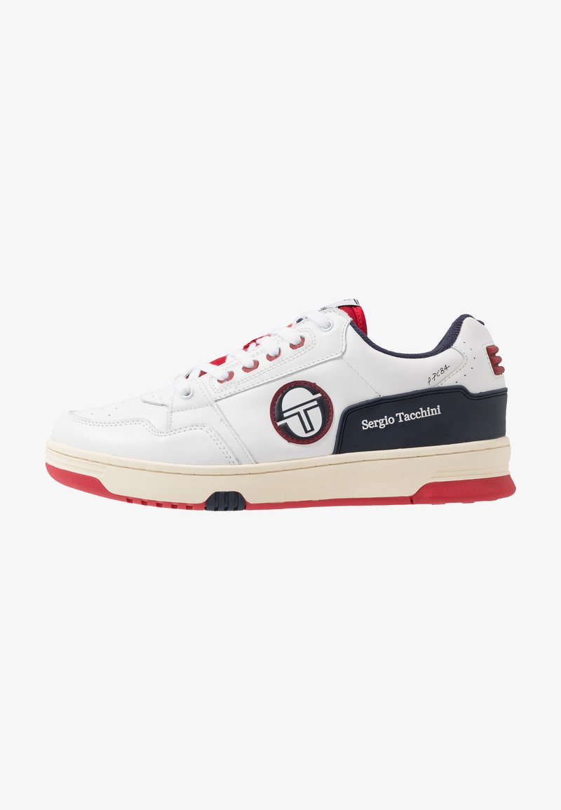 sergio tacchini - REVIEW - Tenisky - white/navy/red