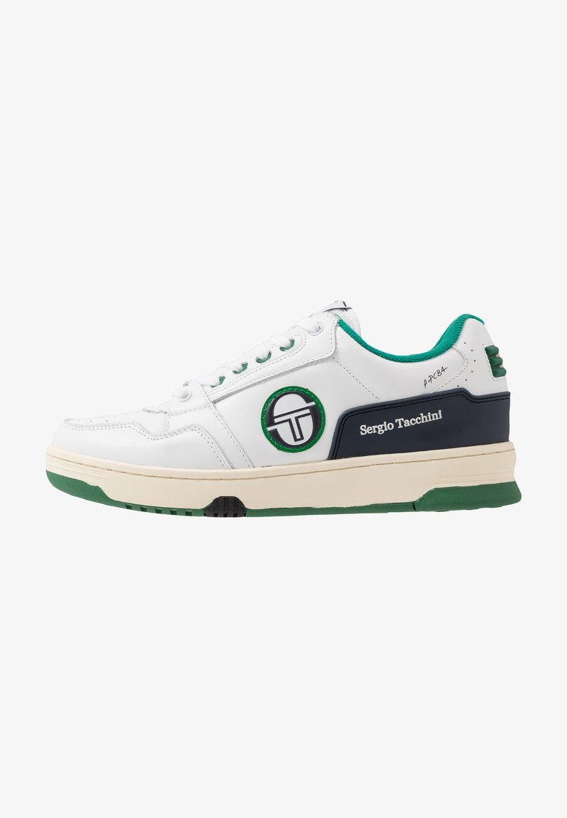 sergio tacchini - REVIEW - Tenisky - white/navy/green