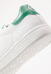 sergio tacchini - GRAN TORINO - Tenisky - white/golf green - 5
