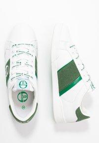 sergio tacchini - PARIGI LTX+SD - Tenisky - white/green - 1