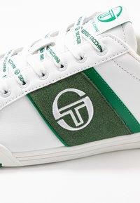 sergio tacchini - PARIGI LTX+SD - Tenisky - white/green - 5