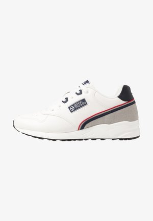 HIVORY - Sneaker low - white/navy/red